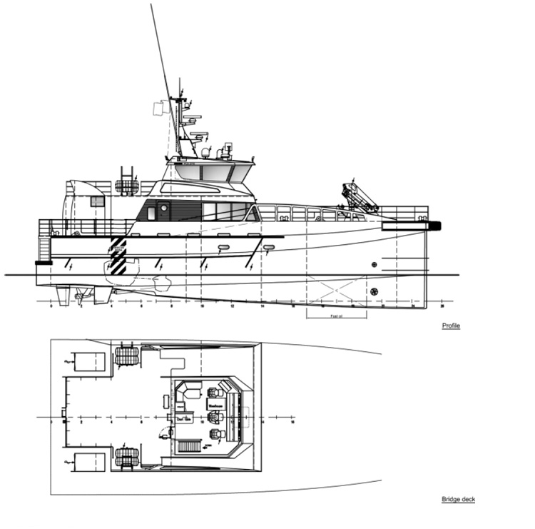 HST Marine technical data